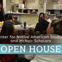 CNAS / McNair Scholars Open House