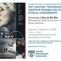 Screening of Eye in the Sky with Panel Discussion on Drone Warfare