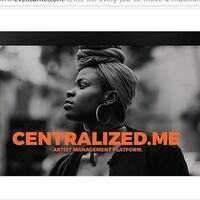 CENTRALIZED.ME - ARTIST MANAGEMENT PLATFORM