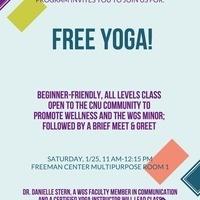 Free Yoga!