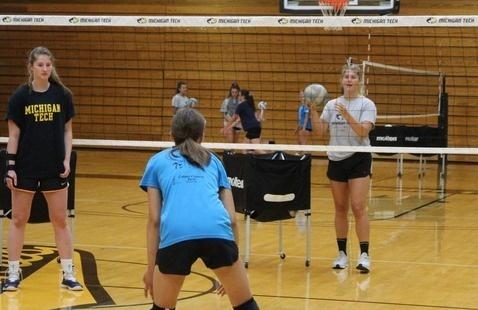 Volleyball All Skills 6-8 Camp