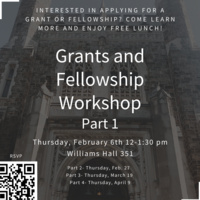 Grant and Fellowship Workshop- Part 1 | Office of International Students and Scholars