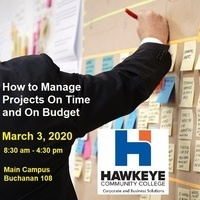 Managing Projects On Time and On Budget