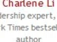 Speaker Broadcast | Charlene Li | Leadership expert, New York Times bestselling author