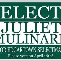Candidate Meet & Greet: Juliet Mulinare for Edgartown Selectman