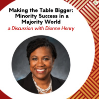 Making the Table Bigger:  Minority Success in a Majority World