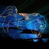 Crazy Horse Legends in Light Laser Show