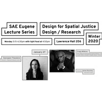 Design For Spatial Justice Lecture Series