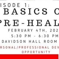 Basics of Pre-Health