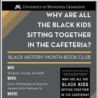 Black History Month Book Club