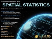 Basic Spatial Statistics (in ArcGIS Pro)--morning session
