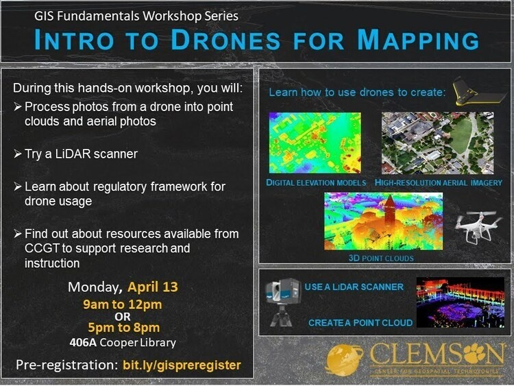 Intro to Drones for Mapping--evening session