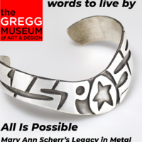 Mary Ann Scherr's All is Possible Bracelet