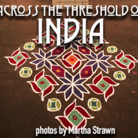 A poster for Across the Threshold of India