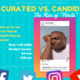 "Curated vs. Candid The Rise of ""Finsta"" - Mental Health Pop-Up Series"
