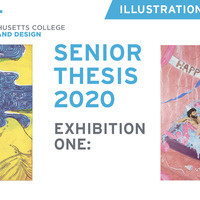 Illustration Senior Thesis - Exhibition I Opening Reception