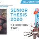Illustration Senior Thesis - Exhibition II Opening Reception