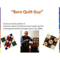 Danny Steiber, the Barn Quilt Guy