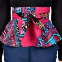 Print Peplum Skirt Design