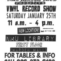 Winter Vinyl Record Show at NMU Library