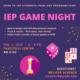 IEP Board Game Night