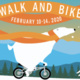 Walk and Bike event poster