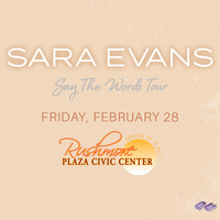 Sara Evans: Say the Words Tour