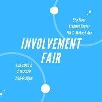 Advertisement for Involvement Fair