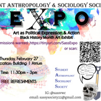 SASS Expo: Art as Political Expression & Action