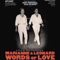 "CBS Film Series presents Marianne & Leonard Words of Love"""