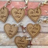 Laser cut Valentine's Day Gifts