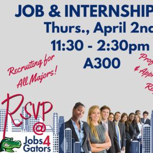 UHD Job & Internship Fair