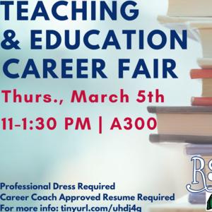 Teaching & Education Career Fair
