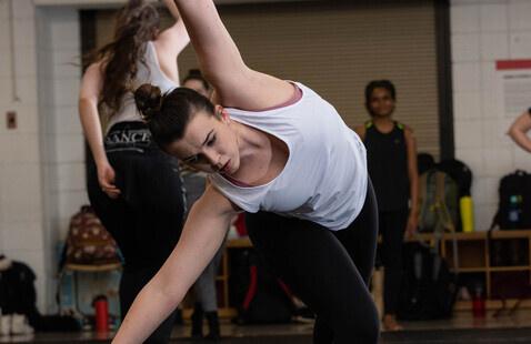 Aubrey Dixson, member of State Dance Company