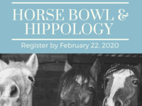 Open Registration for SC 4-H Hippology & Horse Bowl