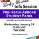 Study Abroad Pre-Health Student Panel