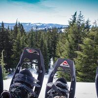 Ranger Guided Crater Lake Snowshoeing Trip
