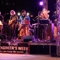 Engineers Rock the Plaza