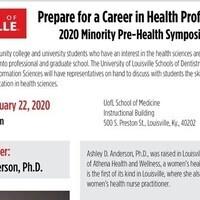 2020 Minority Pre-Health Symposium