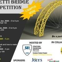 Spaghetti Bridge Competition Info Session