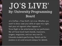Jo's Live: Stand-Up Comedy Night