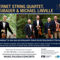 Amernet String Quartet, Violist Paul Neubauer & Pianist Michael Linville