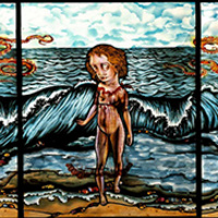 Dream of the Fisherman's Wife by Judith Schaechter, 2004