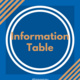 Vivint Smart Home Information Table