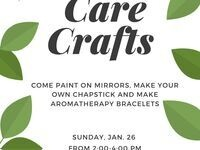 Sunday Funday - Care Crafts