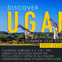 Uganda Summer Study Abroad 2020 - Lunch Info Session