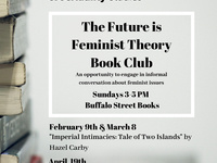 CANCELLED -The Future is Feminist: A Feminist Theory Book Club