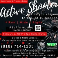 Community event | Active Shooter Awareness & Preparedness
