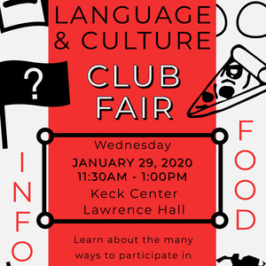 Langauge & Culture Club Fair