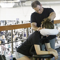Sit Back and Relax: Yates Seated Chair Massage Event